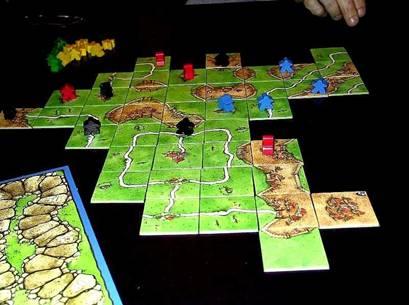 brætspil carcassonne